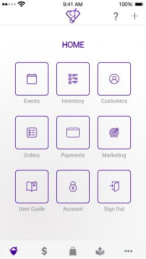 iphone screenshot slides home