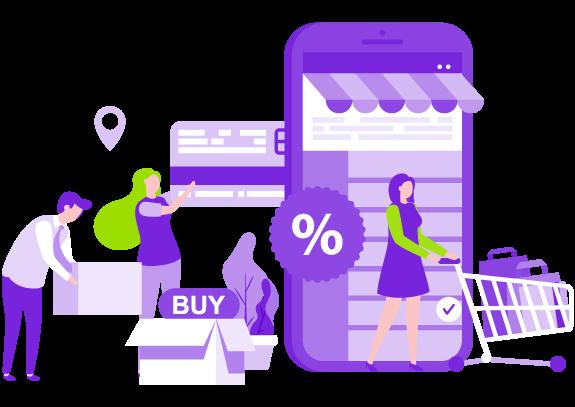 luci customer experience header